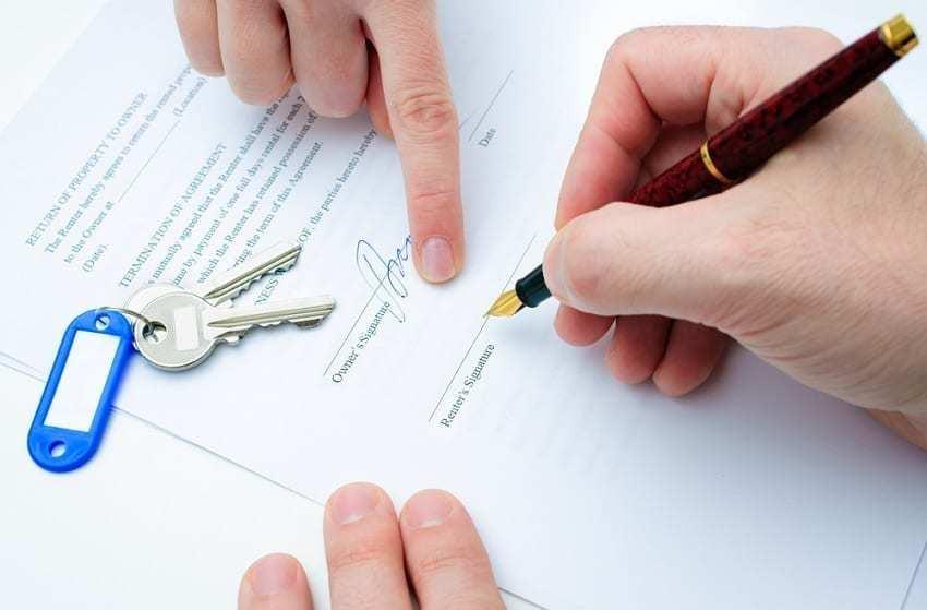 contrato de arras o contrato de arrendamiento para firmar
