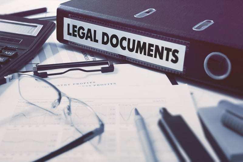 Daños constructivos edificación, documentos legales