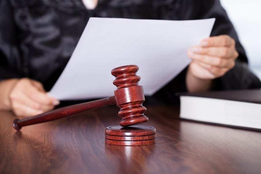 Veredicto juez por delitos económicos